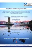 Hydro Nation Scholarship Programme 2018 – Extra Call