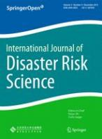New publication by Hydro Nation Scholar, Robert Šakić Trogrlić: Science and Technology Networks: A Helping Hand to Boost Implementation of the Sendai Framework for Disaster Risk Reduction 2015-2030?