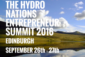Hydro Nation Scottish-Indian Entrepreneurship Programme 2016-2017